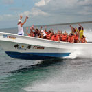 Speedboat to Saona Island